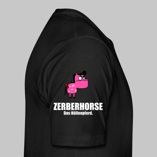 Pferdetasse schwarz - Männer Premium T-Shirt
