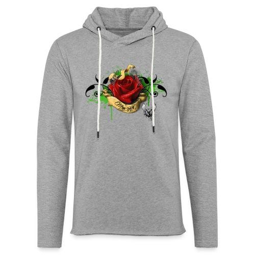 T-shirt Rose M-A - Sweat-shirt à capuche léger unisexe