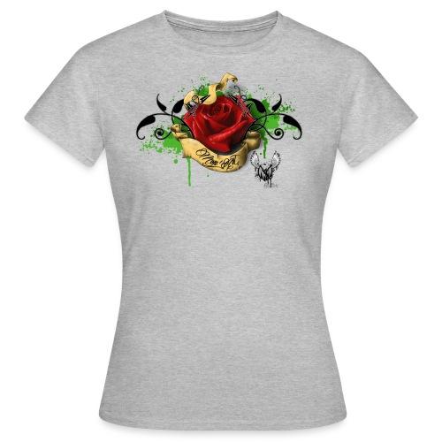T-shirt Rose M-A - T-shirt Femme