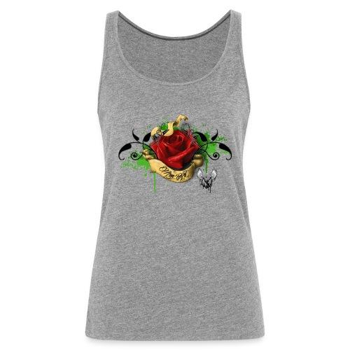T-shirt Rose M-A - Débardeur Premium Femme