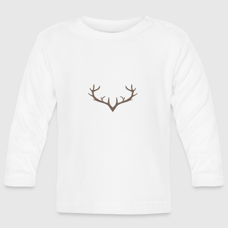 Deer antler Baby Long Sleeve Shirts - Baby Long Sleeve T-Shirt