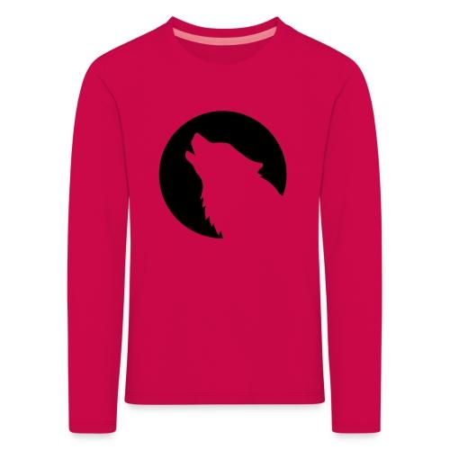 kids hoodie wildwolf109 - Kids' Premium Longsleeve Shirt