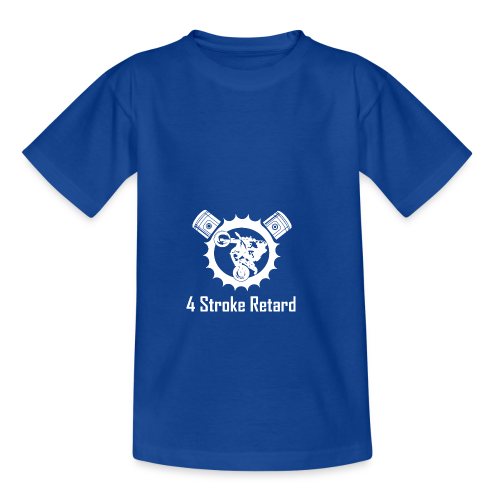 4 Stroke Retard Letzchen - Kinder T-Shirt