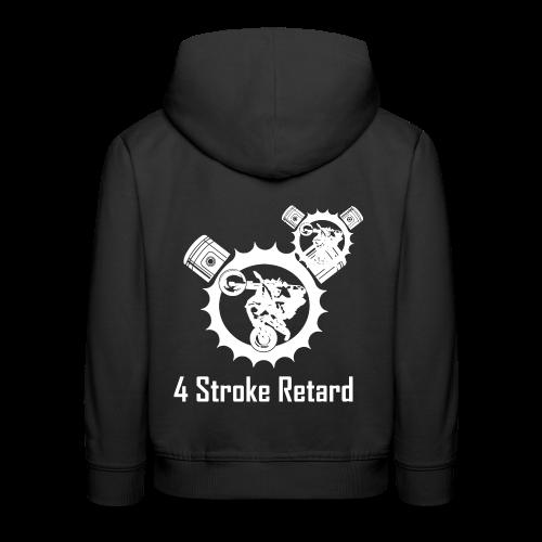 4 Stroke Retard Letzchen - Kinder Premium Hoodie