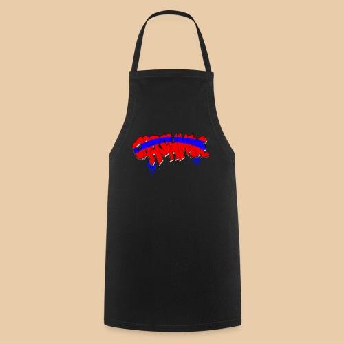 CrashMine.net | Farbiges T-Shirt - Kochschürze