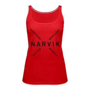 Narvik - Northern Norway - Premium singlet for kvinner