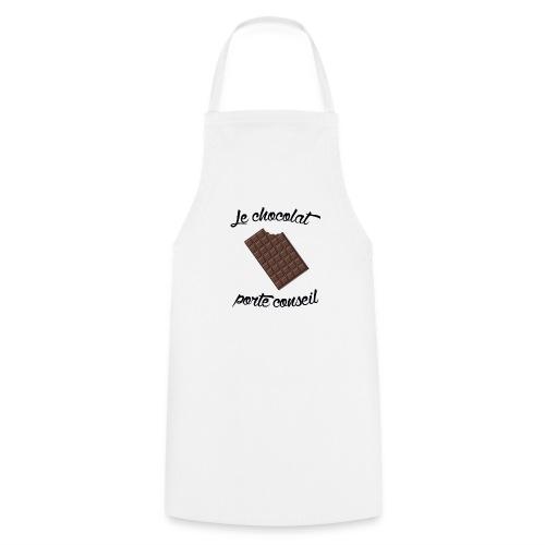 Le chocolat - Tshirt homme - Tablier de cuisine