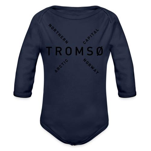 Tromsø - Arctic Capital - Økologisk langermet baby-body