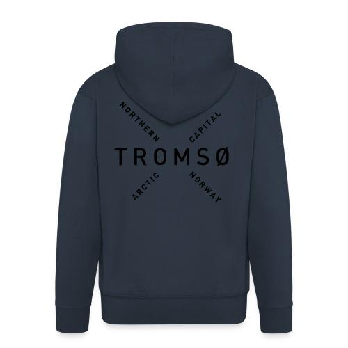 Tromsø - Arctic Capital - Premium Hettejakke for menn