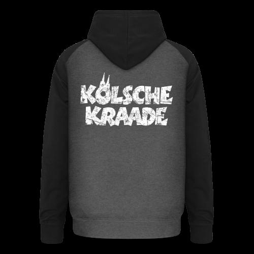 Kölsche Kraade (Vintage Weiß) Kölner Rabauken aus Köln - Unisex Baseball Hoodie