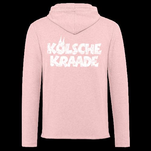 Kölsche Kraade (Vintage Weiß) Kölner Rabauken aus Köln - Leichtes Kapuzensweatshirt Unisex