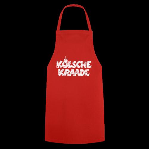 Kölsche Kraade (Vintage Weiß) Kölner Rabauken aus Köln - Kochschürze