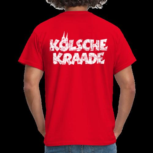 Kölsche Kraade (Vintage Weiß) Kölner Rabauken aus Köln - Männer T-Shirt