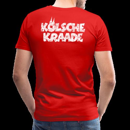 Kölsche Kraade (Vintage Weiß) Kölner Rabauken aus Köln - Männer Premium T-Shirt