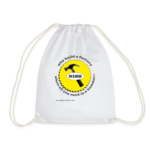 K.I.S.S. Principle - Drawstring Bag