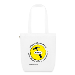 K.I.S.S. Principle - EarthPositive Tote Bag