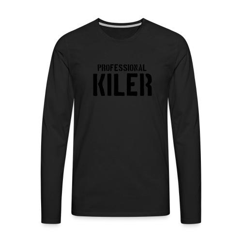 Professional Kiler - Premium langermet T-skjorte for menn