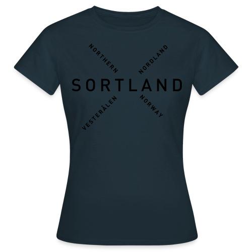 Sortland - Northern Norway - T-skjorte for kvinner