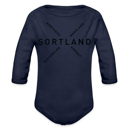Sortland - Northern Norway - Økologisk langermet baby-body