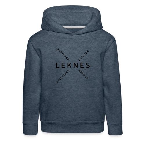 Leknes - Northern Norway - Premium Barne-hettegenser