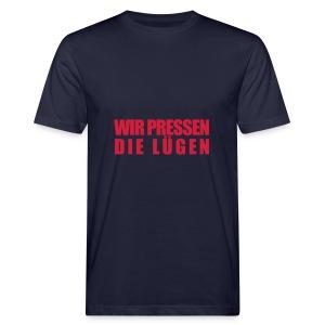Lügenpresse Hoody vom Gesellschafts-Echo - Männer Bio-T-Shirt
