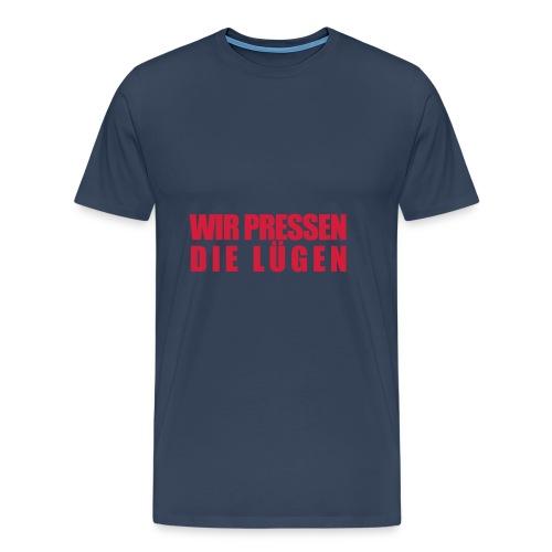 Lügenpresse Hoody vom Gesellschafts-Echo - Männer Premium T-Shirt