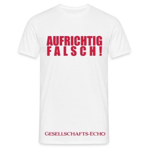 Kochschürze vom Gesellschafts-Echo - Männer T-Shirt
