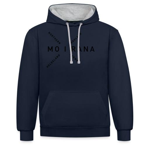 Mo i Rana - Northern Norway - Kontrast-hettegenser