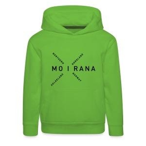 Mo i Rana - Northern Norway - Premium Barne-hettegenser