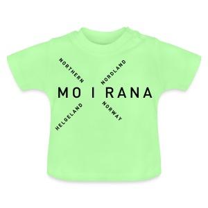 Mo i Rana - Northern Norway - Baby-T-skjorte
