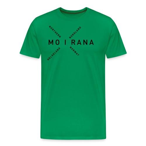 Mo i Rana - Northern Norway - Premium T-skjorte for menn