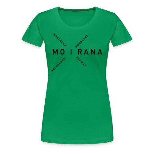 Mo i Rana - Northern Norway - Premium T-skjorte for kvinner
