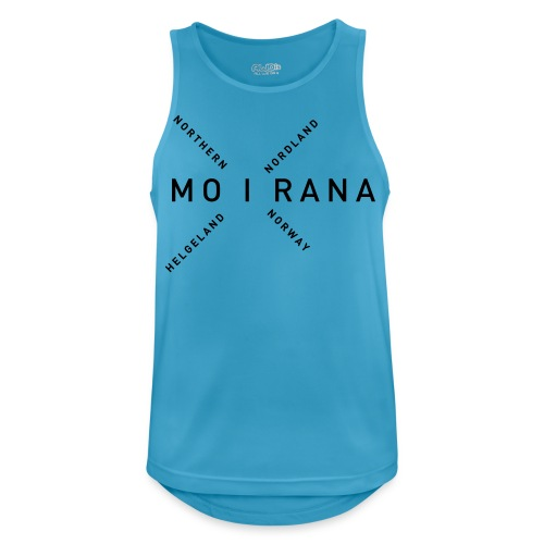 Mo i Rana - Northern Norway - Pustende singlet for menn