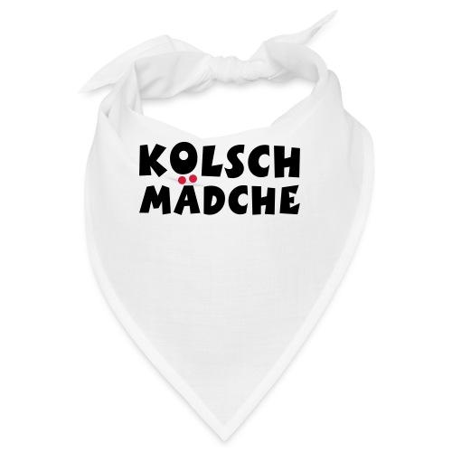 Kölsch Mädche mit Ö und Ä (Schwarz/Rot) Mädchen aus Köln - Bandana