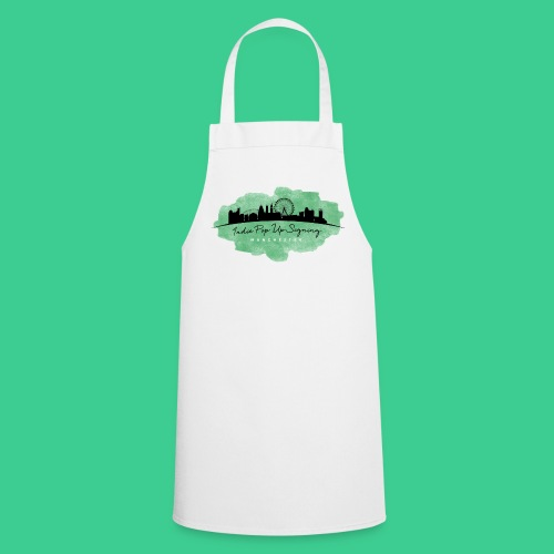 Indie Pop Up Signing V-neck T-shrt - Cooking Apron