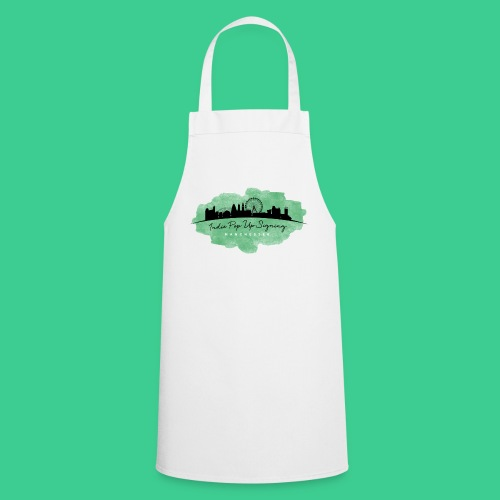 Indie Pop Up Signing V-neck T-shrt - Cooking Apron