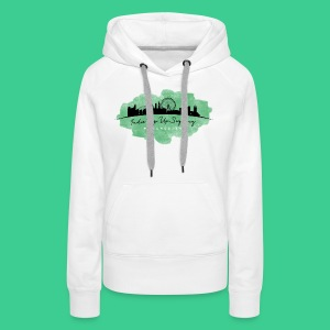 Indie Pop Up Signing V-neck T-shrt - Women's Premium Hoodie