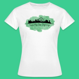 Indie Pop Up Signing V-neck T-shrt - Women's T-Shirt