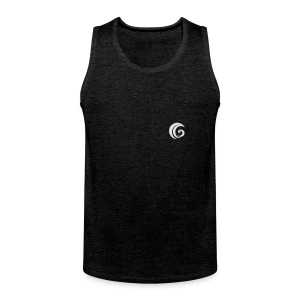 GowerLive Contrast Colour Hoodie - Men's Premium Tank Top
