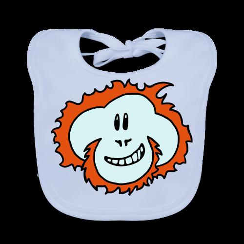 Happy Orangutan Baby Bodysuit - Baby Organic Bib