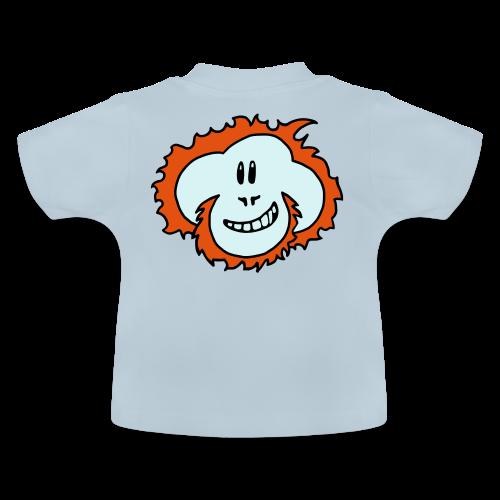 Happy Orangutan Baby Bodysuit - Baby T-Shirt