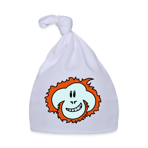 Happy Orangutan Baby Bodysuit - Baby Cap