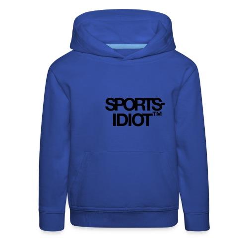 Sportsidiot™ - Premium Barne-hettegenser
