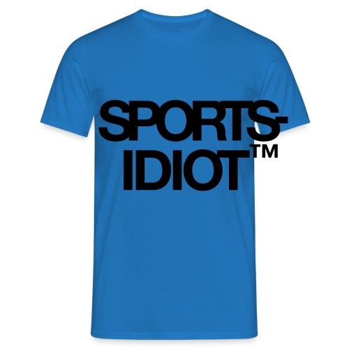 Sportsidiot™ - T-skjorte for menn