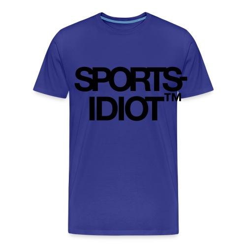 Sportsidiot™ - Premium T-skjorte for menn