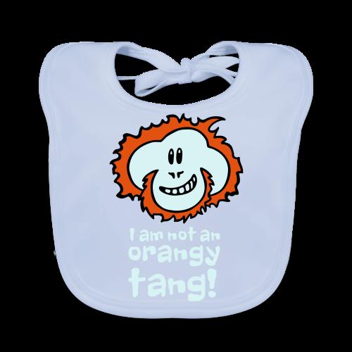 Orangy Tang Orangutan Baby Bodysuit - Baby Organic Bib