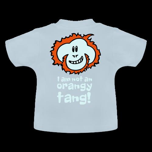 Orangy Tang Orangutan Baby Bodysuit - Baby T-Shirt