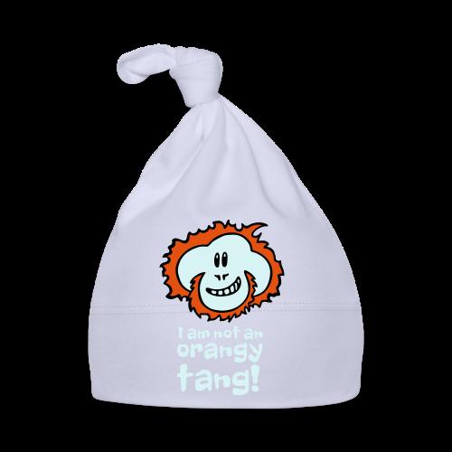 Orangy Tang Orangutan Baby Bodysuit - Baby Cap