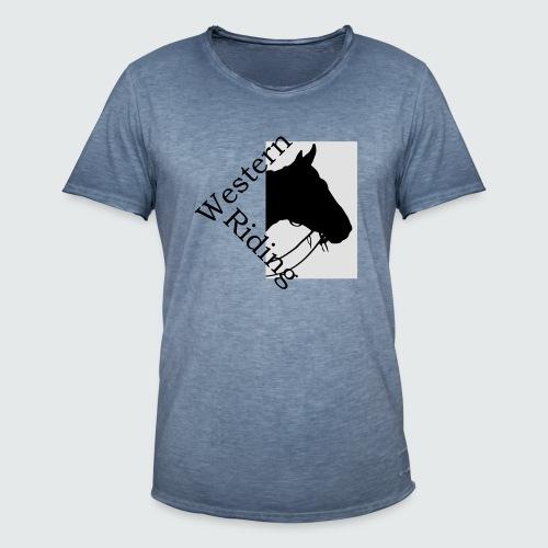 Motiv/167-Lila-Lavendel - Männer Vintage T-Shirt