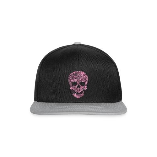 Hoodie enfant pink skull - Snapback Cap